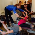 exercice pilates Aurore Longère